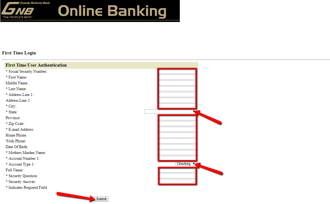 arab national bank online registration